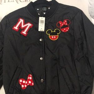 Boxlunch Mickey & Minnie bomber jacket
